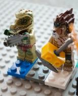 Lego Rock Concert Guitarist Two