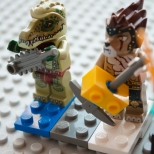 Lego Rock Concert Guitarist Two
